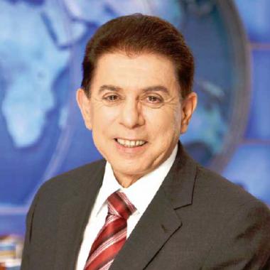 Heródoto Barbeiro, âncora do Jornal Record News