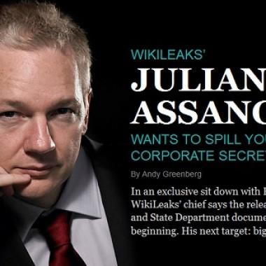 Capa da revista Forbes de novembro de 2010