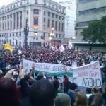 Manifestações do movimento Passe Livre: dois lados de uma história
