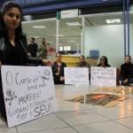 Alunos de Jornalismo da Unicsul protestam por melhorias