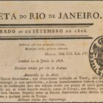 Qual foi o primeiro jornal impresso no Brasil?