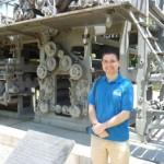Estudante paulista viaja para conhecer o Museu da Imprensa