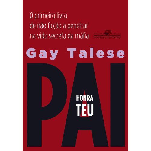 Capa do livro 'Honra teu Pai'. Foto: Divulgação