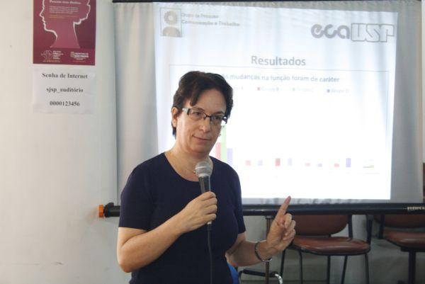 Roseli Fígaro, professora de Comunicação da USP. Foto: Emílio Coutinho.