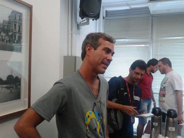 """Bruno Paes Manso, jornalista responsável pelo blog """"SP no Divã"""" no site do jornal O Estado de S.Paulo."""