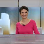 """""""Ser apresentadora, não é traduzir a notícia, mas compartilhá-la"""", ressalta Sandra Annenberg"""