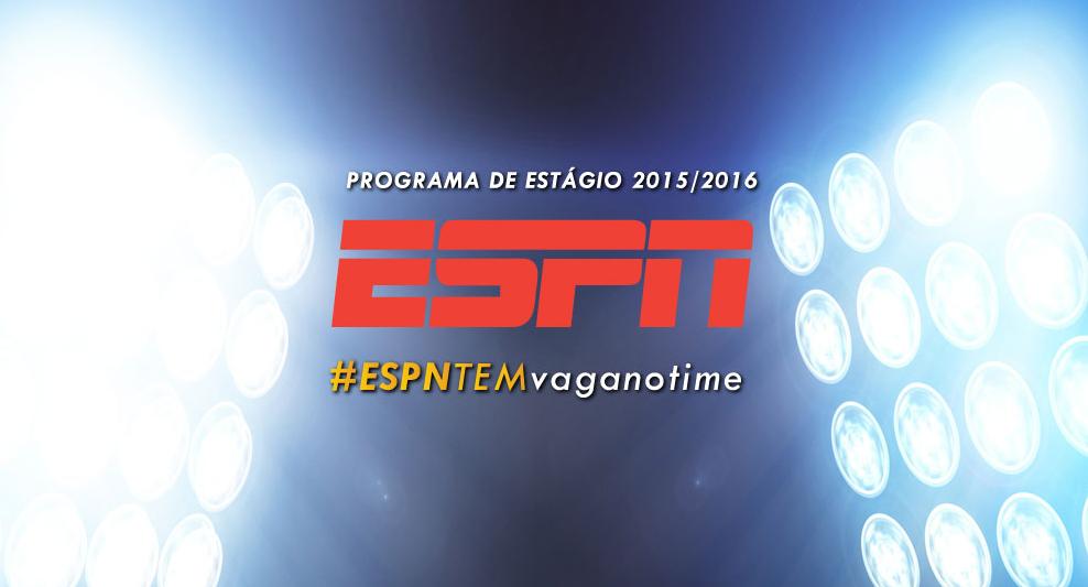 Programa de Estágio na ESPN