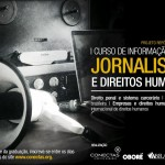 Abertas as inscrições para o I Curso de Informação sobre Jornalismo e Direitos Humanos
