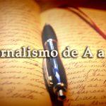 Vocabulário de jornalismo