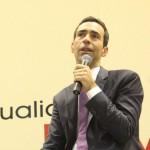 César Tralli conversa com estudantes de jornalismo sobre o Mercado de trabalho