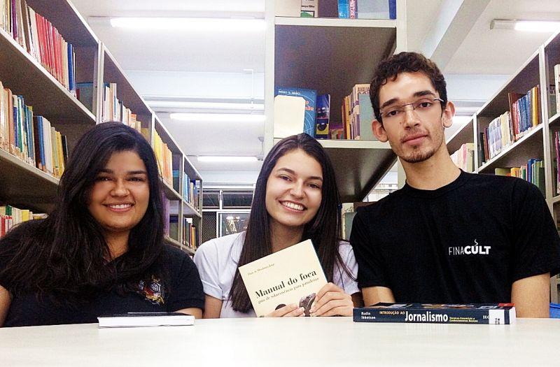 Focas do 3º período de Jornalismo no Centro Universitário de Patos de Minas – Unipam. (Foto: Arquivo Pessoal)
