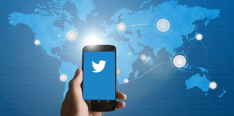 Celular twitter redes sociais internet