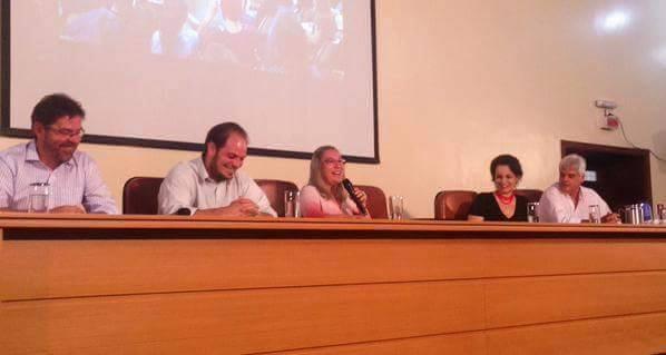 O evento contou com a participação de convidados ilustres que esclareceram os pontos da tese discutida. Foto: Lorena Carolino