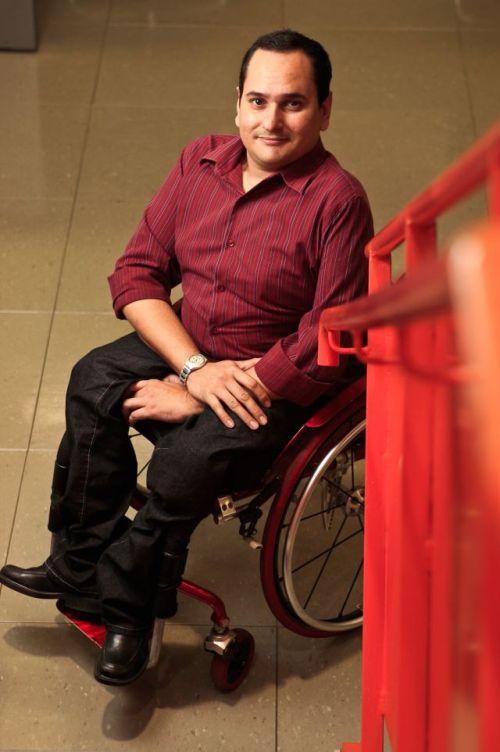 """Para o jornalista Jairo Marques, """"O ingresso, para profissionais com deficiência na TV, é extremamente restrito e praticamente inexistente"""". (Foto: Arquivo Pessoal)"""