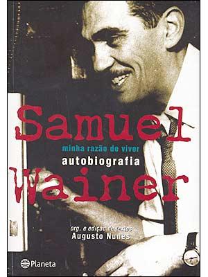 Livro Minha razão de viver de Samuel Wainer