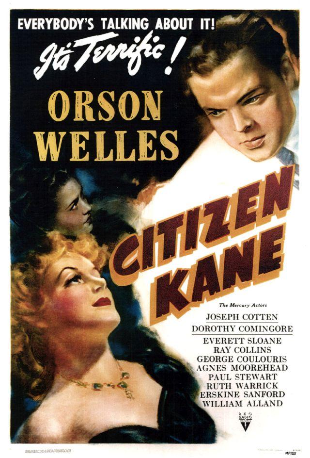 Cidadão Kane - banner do filme