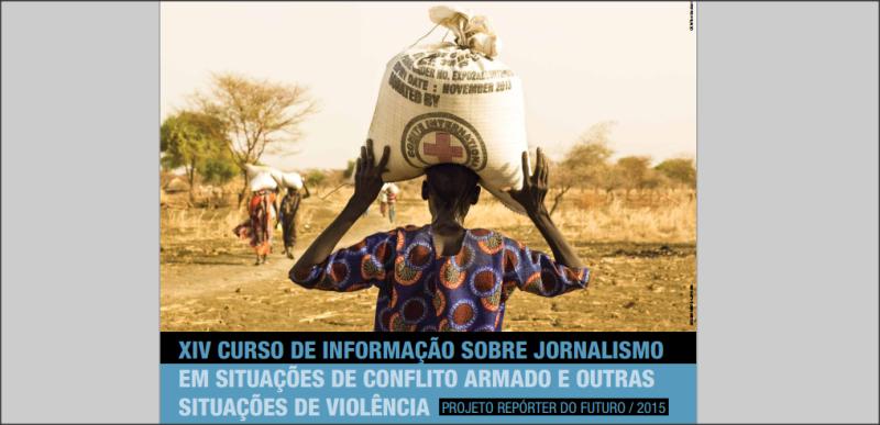 Curso sobre Jornalismo em Conflitos Armados