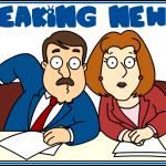 Escalada: as manchetes de um telejornal