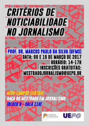 Curso sobre critérios de noticiabilidade no jornalismo