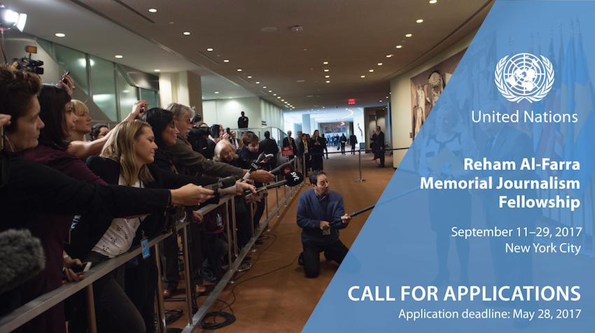 ONU seleciona jornalistas para cobertura de evento nos EUA
