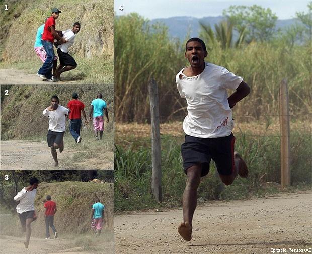 Conjunto de fotos que renderam o Prêmio Esso de 2011 ao Fotojornalista Epitácio Pessoa.