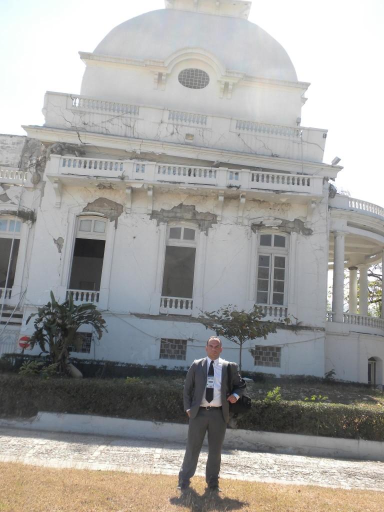 Rodrigo Craveiro em Porto Príncipe (Haiti)