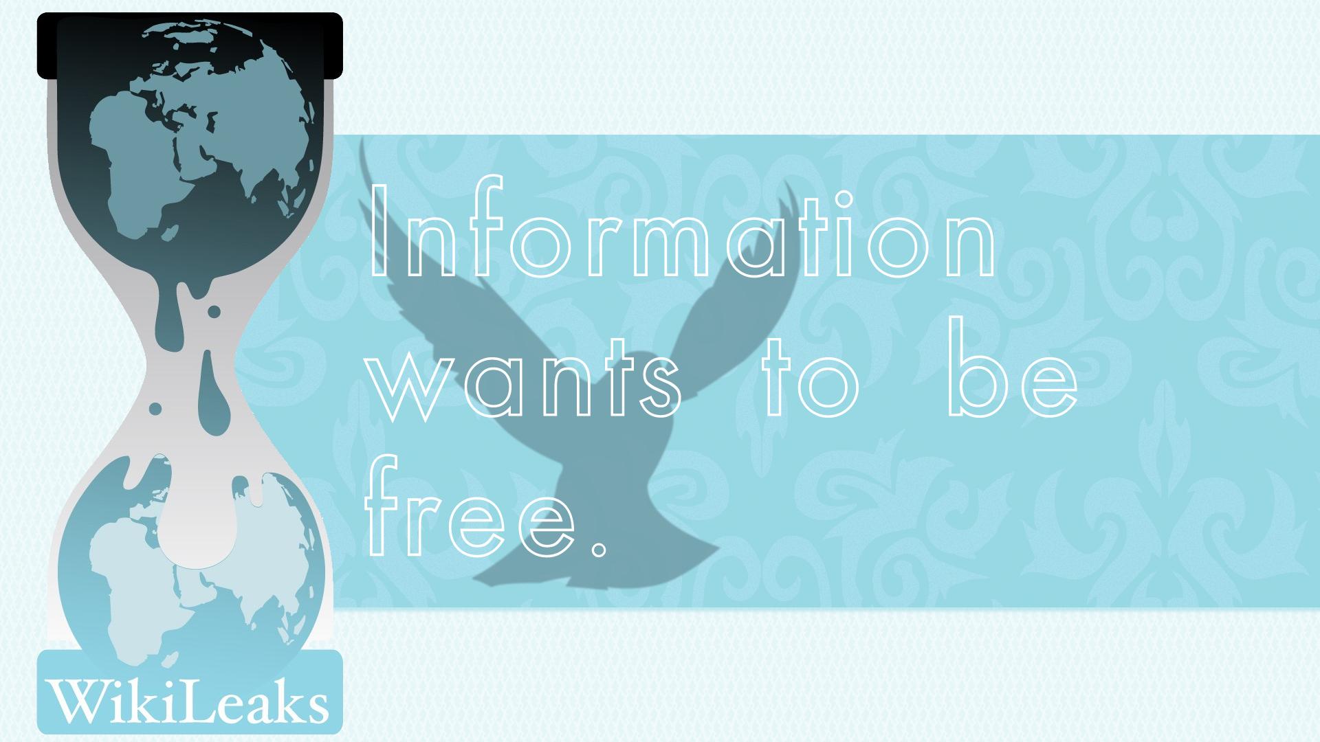 A informação quer ser livre
