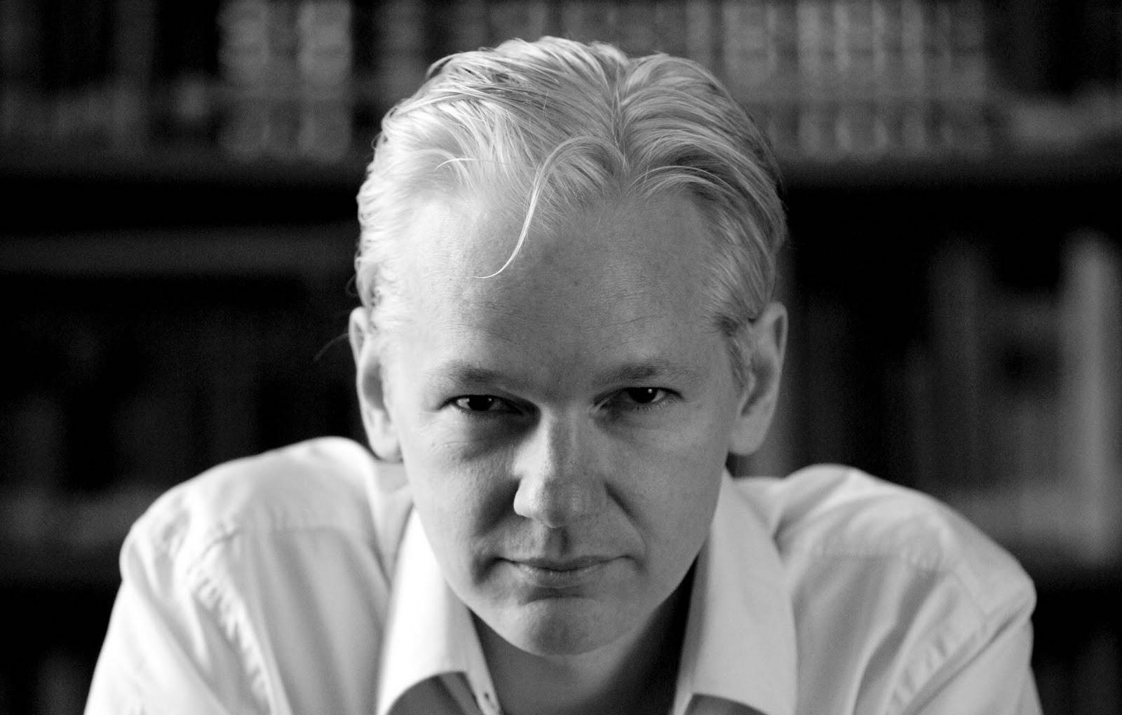 Julian Assange, fundador do Wikileaks'