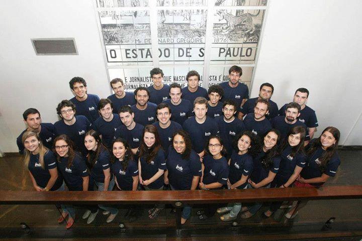 Turma do 23º Curso Estado de Jornalismo. Foto: Estadão.com.br