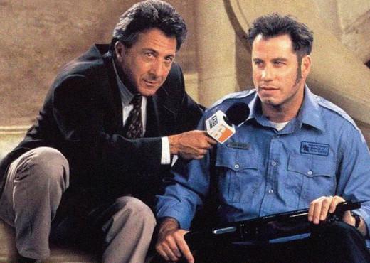"""Com John Travolta em """"O Quarto Poder"""""""
