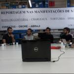Jornalistas discutem uso de novas mídias em manifestações