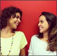 As jornalistas Amanda Rahra (à esquerda) e Nina Weingrill (à direita) pretendem levar as oficinas de jornalismo para todo o Brasil. / Foto: Divulgação