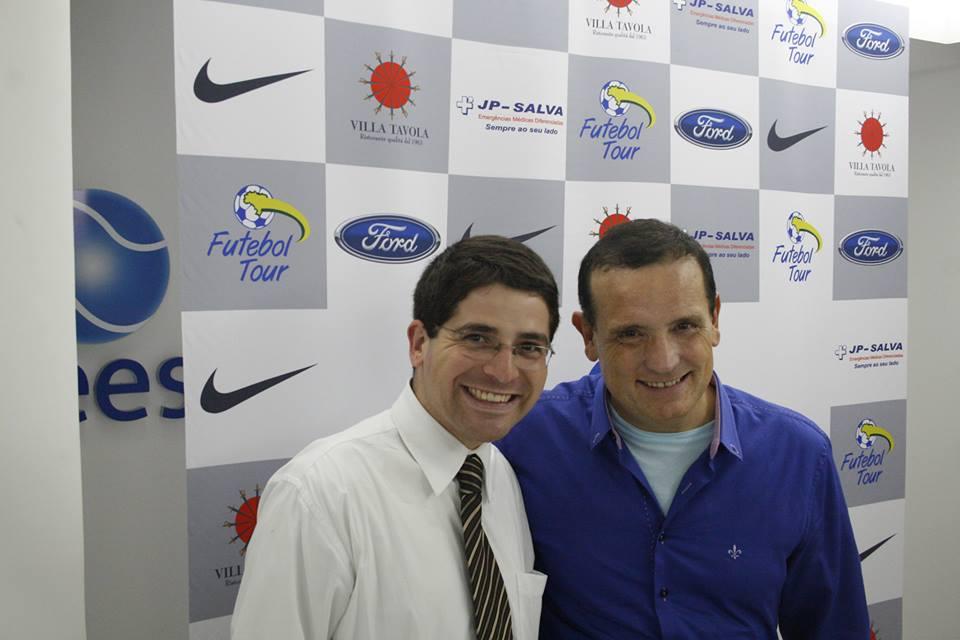 Roberto Cabrini e Emilio Coutinho