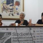 Sindicato dos jornalistas de SP discute o espaço da mulher no Jornalismo