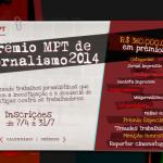 Prêmio de jornalismo promovido pelo Ministério Público do Trabalho tem inscrições abertas