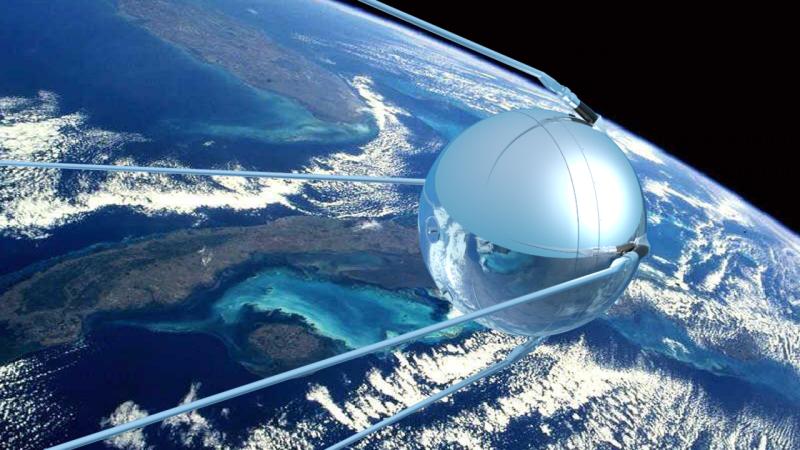 Satélite Sputnik.
