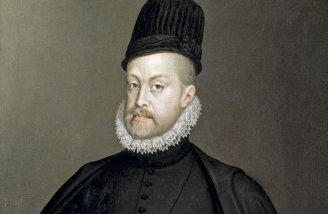 Filipe II, de Espanha, Sofonisba Anguissola - Museo del Prado. Foto: Wikipedia.