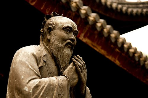 Confúcio, pensador e filósofo chinês.