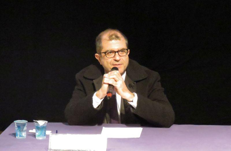 O diretor de conteúdo do grupo Estado, Ricardo Gandour refletiu sobre o que é ser repórter. Foto: Camila Alvarenga