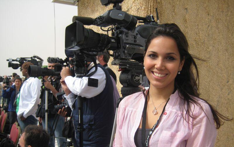 Segundo a jornalista Mariana Alonso, não se pode ter muito  apego ao trabalhar com pauta. Foto: Arquivo pessoal