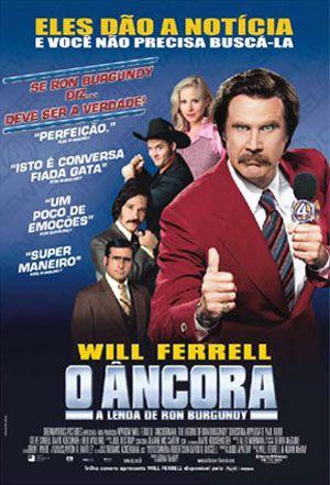 """Banner do filme """"O Âncora: A lenda de Ron Burgundy"""" (Foto: Divulgação)"""