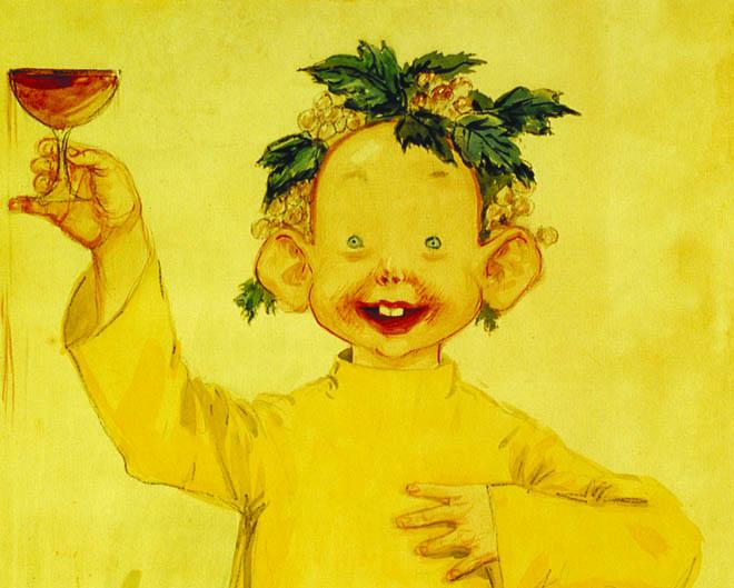 O Yellow Kid, personagem criado por Richard Felton Outcault.