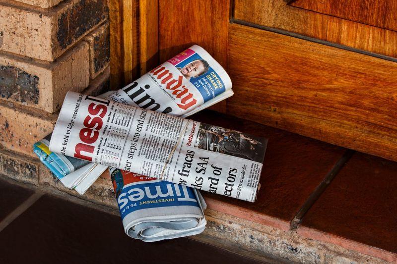 Não dá ter certeza de que o jornal impresso desaparecerá ou não. (Foto: Pixabay)