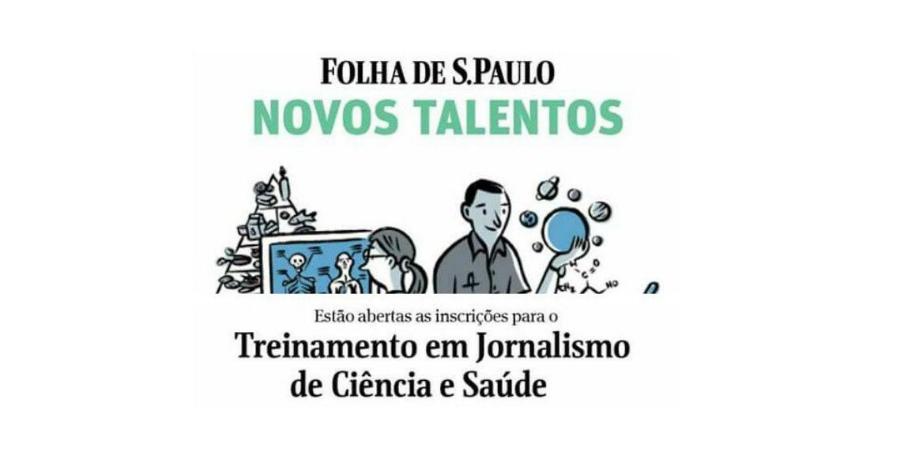 Folha treinamento em Jornalismo de Ciência e Saúde
