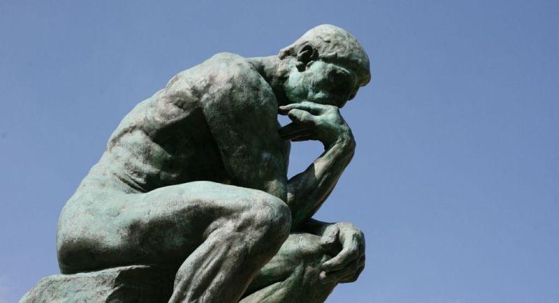 O Pensador, de Auguste Rodin. (Foto: Pixabay)