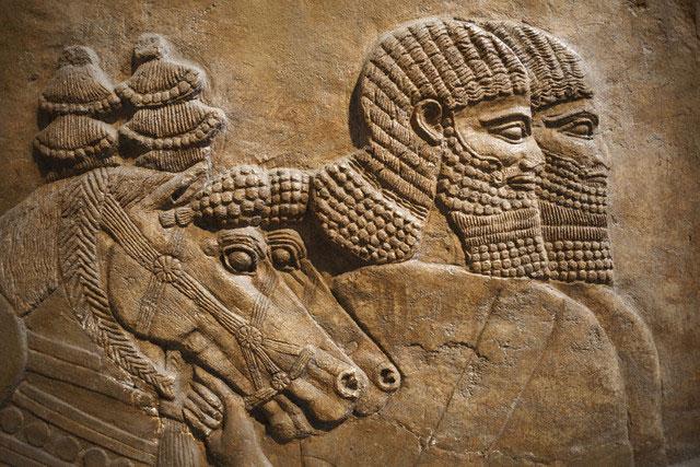Relevo assírio em Nimrud