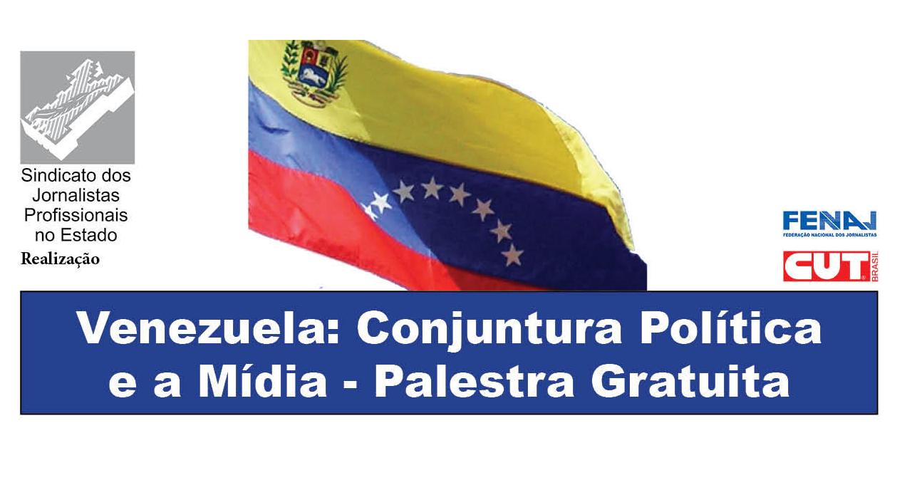 SJSP - Palestra gratuita venezuela