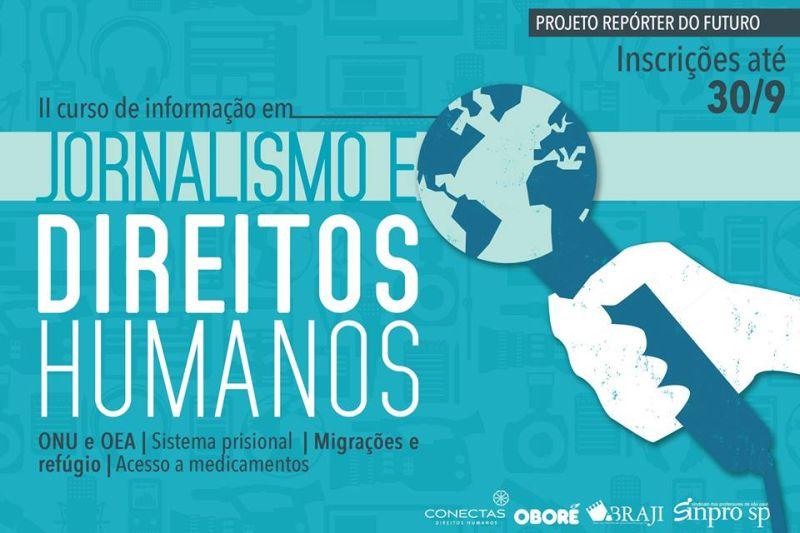 II Curso de Informação sobre Jornalismo e Direitos Humanos