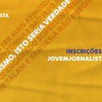 12º Prêmio Jovem Jornalista está com as inscrições abertas