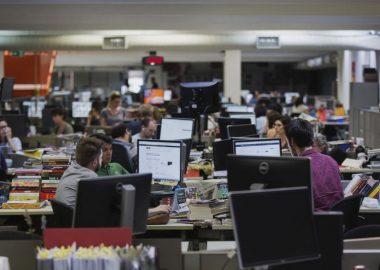 Redação de Folha de São Paulo